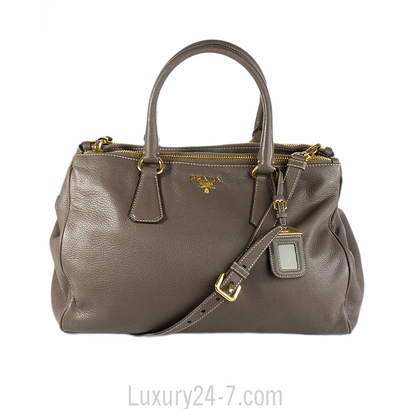 59a9794bb5ba Prada Argilla Leather Tote Bag | Stanford Center for Opportunity ...