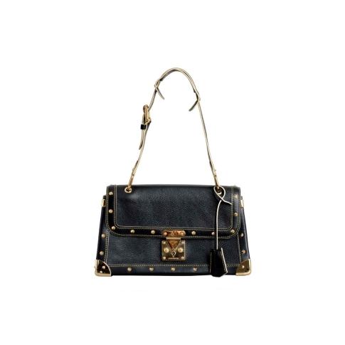 Louis Vuitton Black Suhali Le Talentueux Bag