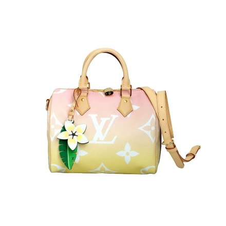 Louis Vuitton Speedy Pink Bandouliere 25  Summer By The Pool collection