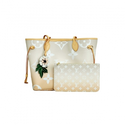 Louis Vuitton Mist Neverfull MM  Special Summer ed By The Pool Collection