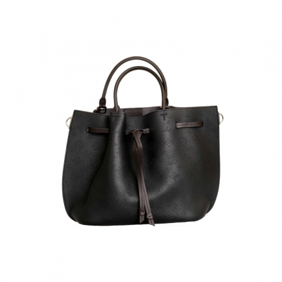 Louis Vuitton Black Mahina Girolata Bag