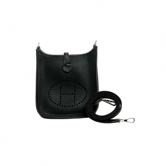 Hermès Noir Black Clemence Amazon Evelyne 16